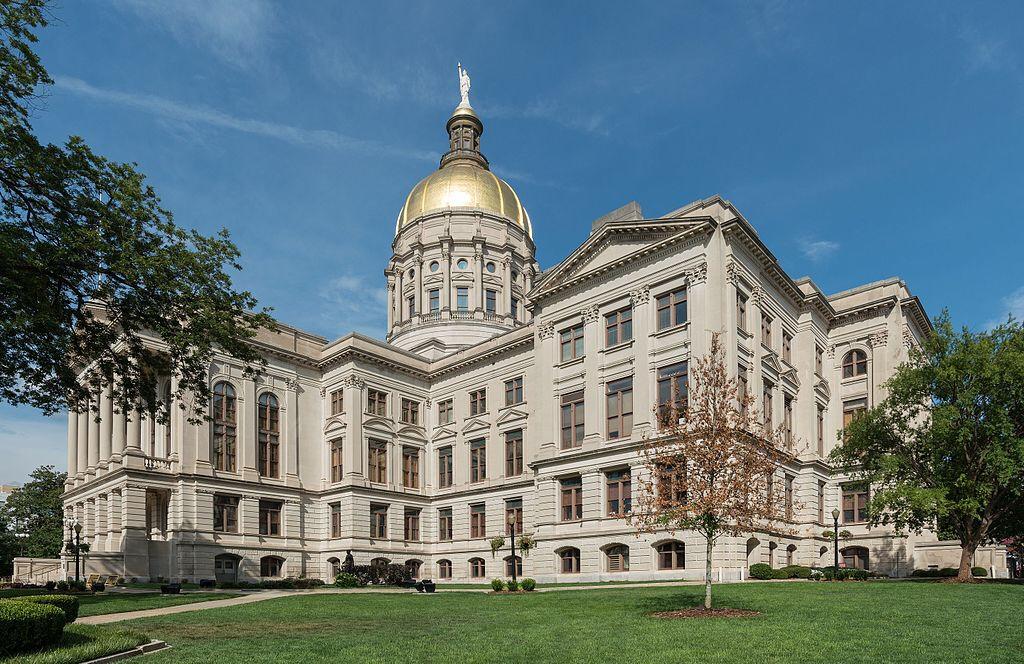 Photo of Georgia State Capitol (Wikimedia Commons photo)