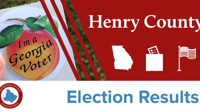 Graphic for Henry County Election Results