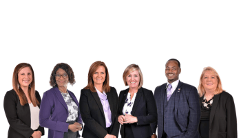 Photo of Henry County Schools board members and Superintendent in January 2021 (Henry County Schools photo)