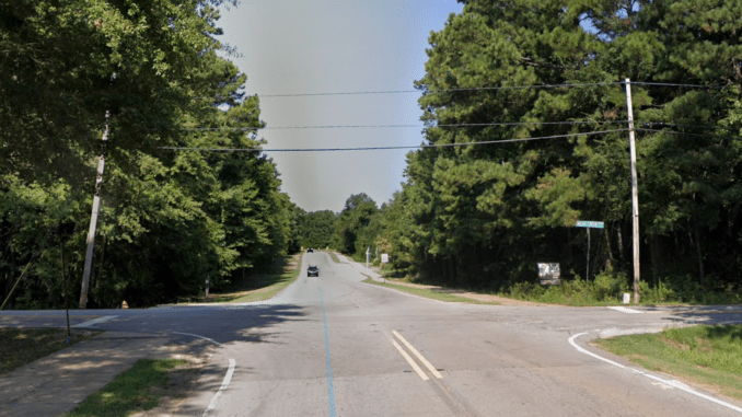 Streetview of Tanger Blvd at Indian Creek Road (Google photo)