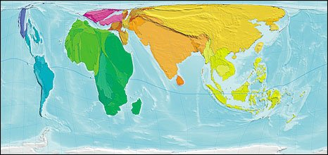 World map of human poverty...shows Asia harbouring over half
