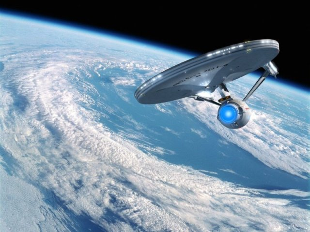The Enterprise will be cruising the galaxy for centuries to come...
