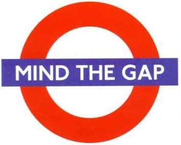 Biggest gap: between rhetoric and practice!