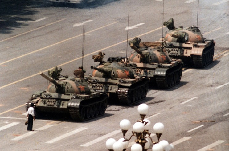 Tiananmen + 20: Tribute to Tank Man, or the Unknown Rebel (1/2)