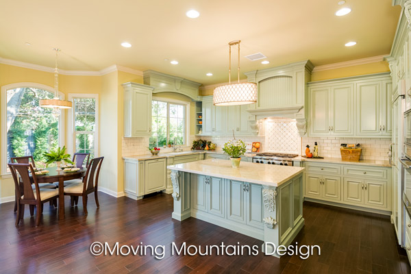 Arcadia New Home Staging Kitchen  Moving Mountains Design