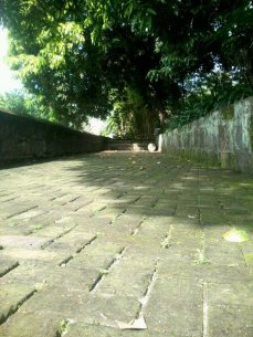 The pathway on top of the Wall.