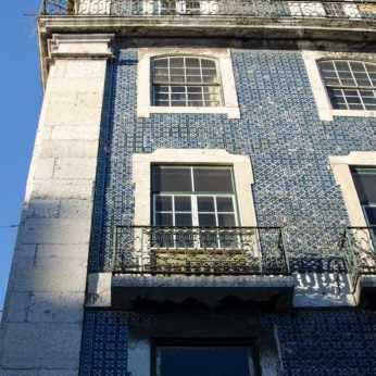 Lissabon's Häuser