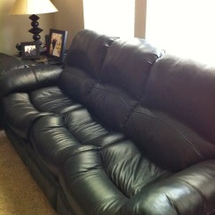 Leather Sofa Bed Pull Out Can You Reupholster Black Couch With  650 Stuff For Sale