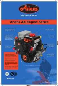 Ariens AX Engine Series