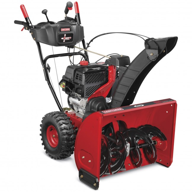 2015 Craftsman Quiet 26 Inch Snow Thrower Model 88694