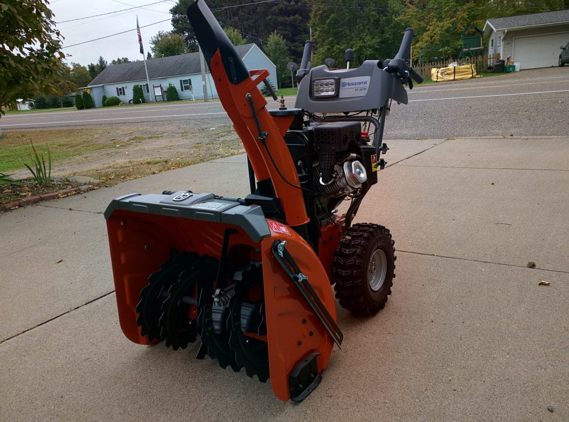 Husqvarna STP Snow Blower Picture Review MovingSnow