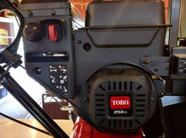 Toro SnowMaster Engine