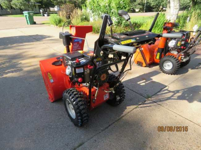 Ariens Deluxe 28 SHO Left Rear