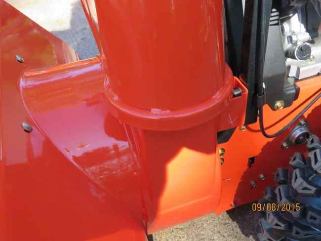 Ariens Deluxe 28 SHO Chute