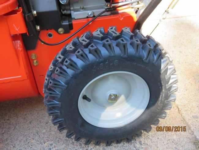 Ariens Deluxe 28 SHO Tires