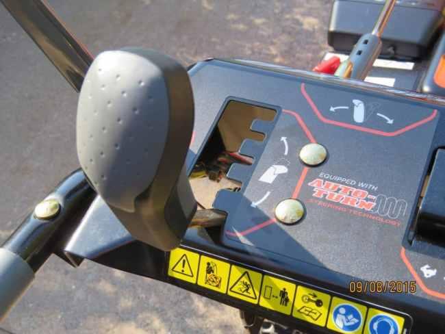Ariens Deluxe 28 SHO Controls