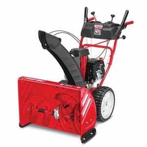 2016 Troy-Bilt Storm 2860 with the new Airless Tires! 2-stage, 243cc, Review! 1
