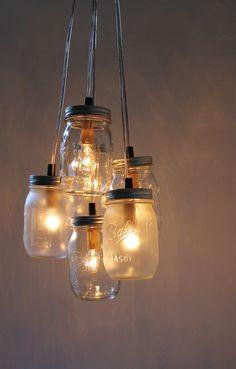 déco maison bocal lumière 5