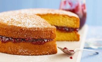 Le gâteau «Victoria sponge»