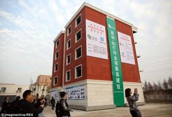 Un building de 5 étages imprimé en 3D