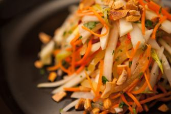 Salade de papaye verte thaïlandaise
