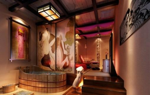 Salle de bain japonaise 12