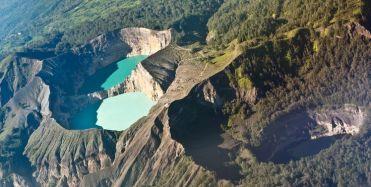 Lacs de cratère Kelimutu, Indonésie 2