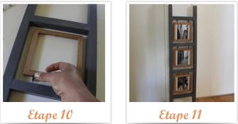 Une échelle porte photos à faire soi-même