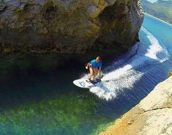 Aquila, une planche de surf à moteur