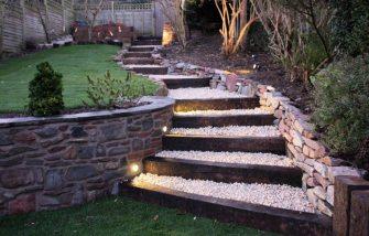 Des escaliers dans votre jardin