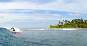 Un des meilleurs spots de surf du monde