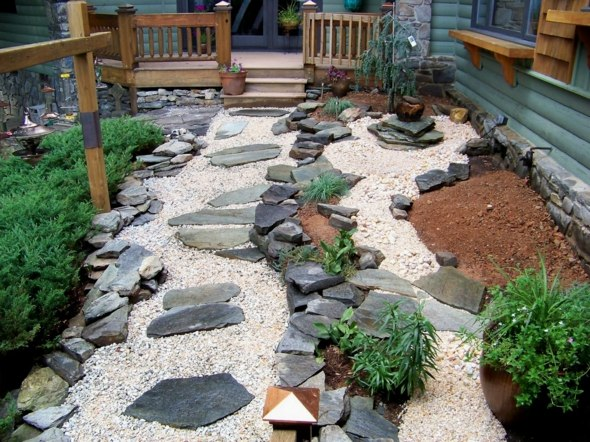 petit-jardin-moderne-rocaille - Moving Tahiti