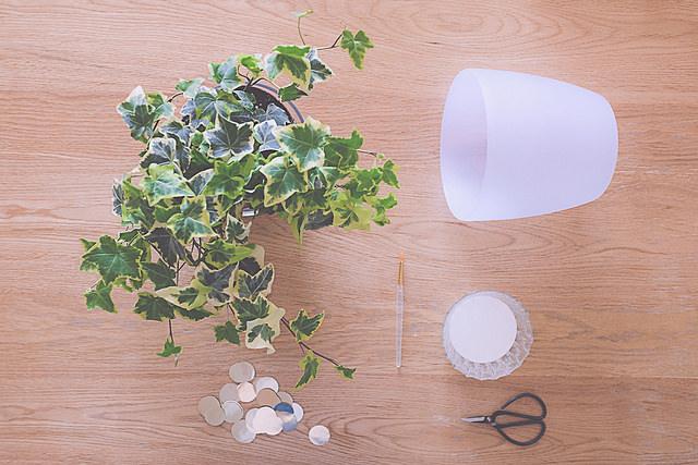 DIY - Un cache-pot en écailles 03