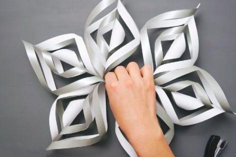 DIY Décorations de Noël en papier 17