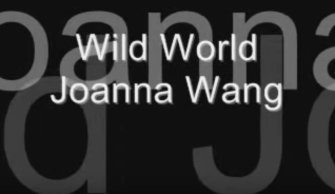 Wild World – Joanna Wang lyrics