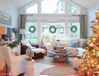 The Happy Housie : Une très belle maison aux couleurs de Noël