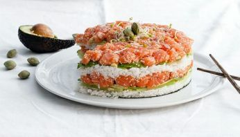 Le sushi cake 04