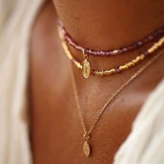 Tendance mode : Le retour du collier ras de cou