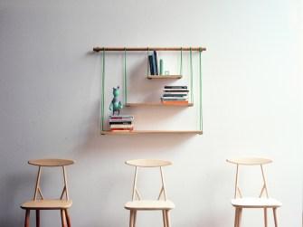DIY du week-end : Une étagère suspendue