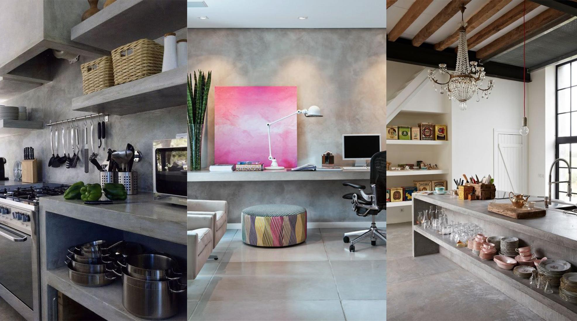 beton cire deco beton cire cuisine charmant video beton cire sur faience mercadier eleonore. Black Bedroom Furniture Sets. Home Design Ideas