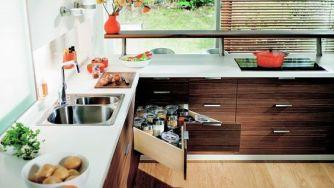 Des astuces gain de place pour aménager votre petite cuisine