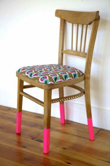 DIY - Customisez vos chaises avec du tissu 04