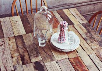 Fabriquez votre table rustique en palette