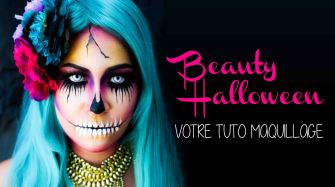 Happy Beauty Halloween by Audrey Bodilis !