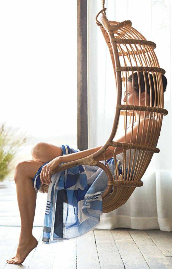 chaise-balancoire-meuble-en-rotin-fauteuil-rotin-blanc-fauteuil ...
