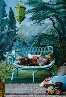 chouette-fauteuil-rotin-style-rustique-cool-idee-a-recreer-maison-stylee-vert-idee