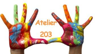 L'Atelier 203, les activités d'éveil artistique des enfants et adolescents