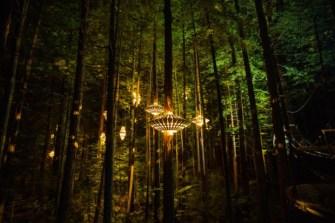 Une balade nocturne à Rotorua