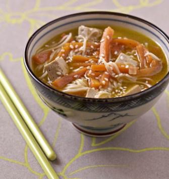 La soupe au tofu