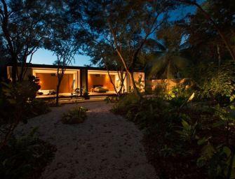 Une magnifique villa au Mexique